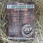 20 Jahre Reitschule Neuental am 7.9.2019
